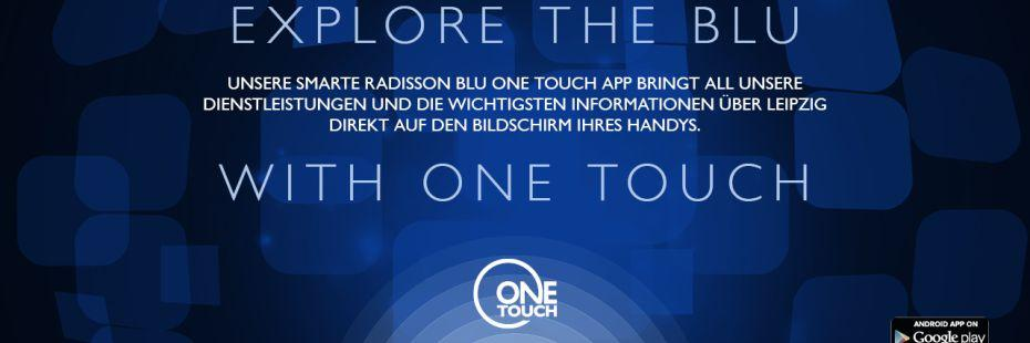 Radisson Blu One Touch App